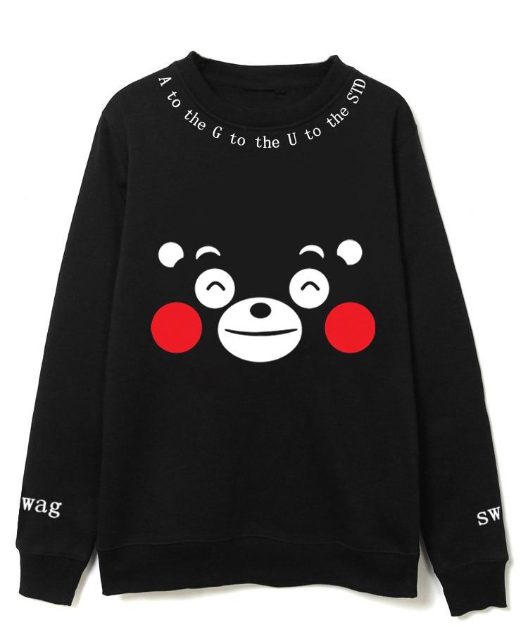 Nuevo Kpop BTS bangtan boys suga mismo estilo Unisex fleece sweatershirt ejército con capucha de algodón sudaderas con capucha