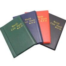 10 страниц, 120 карманов, альбомы для монет, коллекция книг, украшение дома, фотоальбом, ПВХ, держатели для монет, альбом, коллекция книг