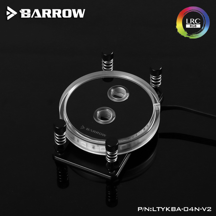 Barrow CPU Water Block use for AMD RYZEN AM3 AM3 AM4 Socket Acrylic Copper Radiator Block RGB Light Support connect AURA in Fans Cooling from Computer Office