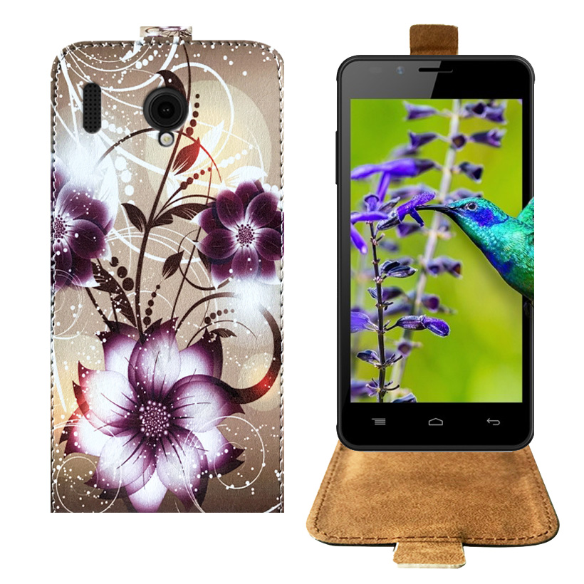 quality design f6bc0 93156 Top Selling Cartoon Painting Factory Price PU Leather Flip Case For Intex  Aqua Lions E3 Case Back ...