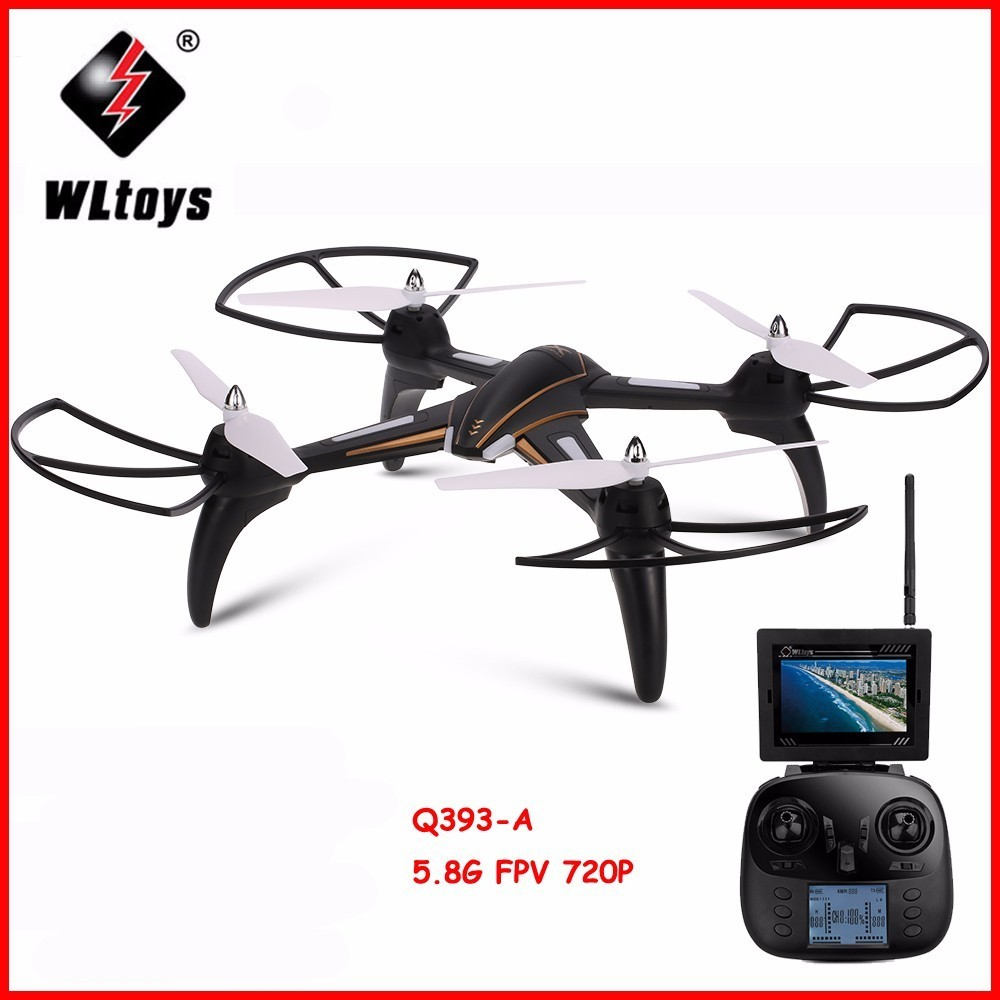 WLtoys Q393 Radio Control RC Drone Dron 5.8G FPV 5MP Camera Headless Mode Quadcopters Flying Helicopter with Light RTF Drones wifi drones with camera jjrc h12w quadcopters rc dron wifi flying camera helicopter remote control hexacopter toys copters