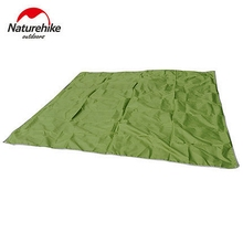 2.15*2.15M Naturehike Canopy Cloth Sun Shelter Beach Shelter Awning Floor Camping Mat Blanket Cushion Footprint Hiking 6 Holes