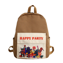 Купить с кэшбэком Feminina Female Mochila boy Bagpack cartoon Backpacks girl Travel Bags Women School Backpack for Teenage Girls Casual Sac A Dos