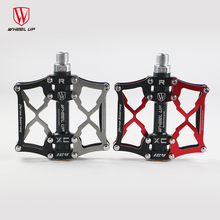 WHEEL UP Super light Quality aluminum bicycle pedal antiskid for road mountain bike pedals bmx parts new arrival 2017