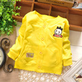 2016 New Baby Boys Jacket Spring and autumn 5 Color Outerwear Coat Cotton Kids Clothes Childre Cartoon cloak coat