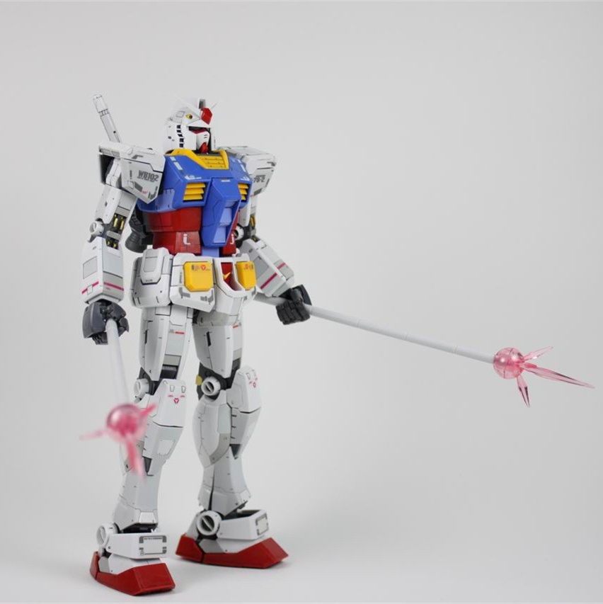 Image 4 - Queen general weapon pack for Bandai MG RG HG 1/100 1/144  RX 78 2 Gundam modelpacking plantspacking china for shippingpacking beads -