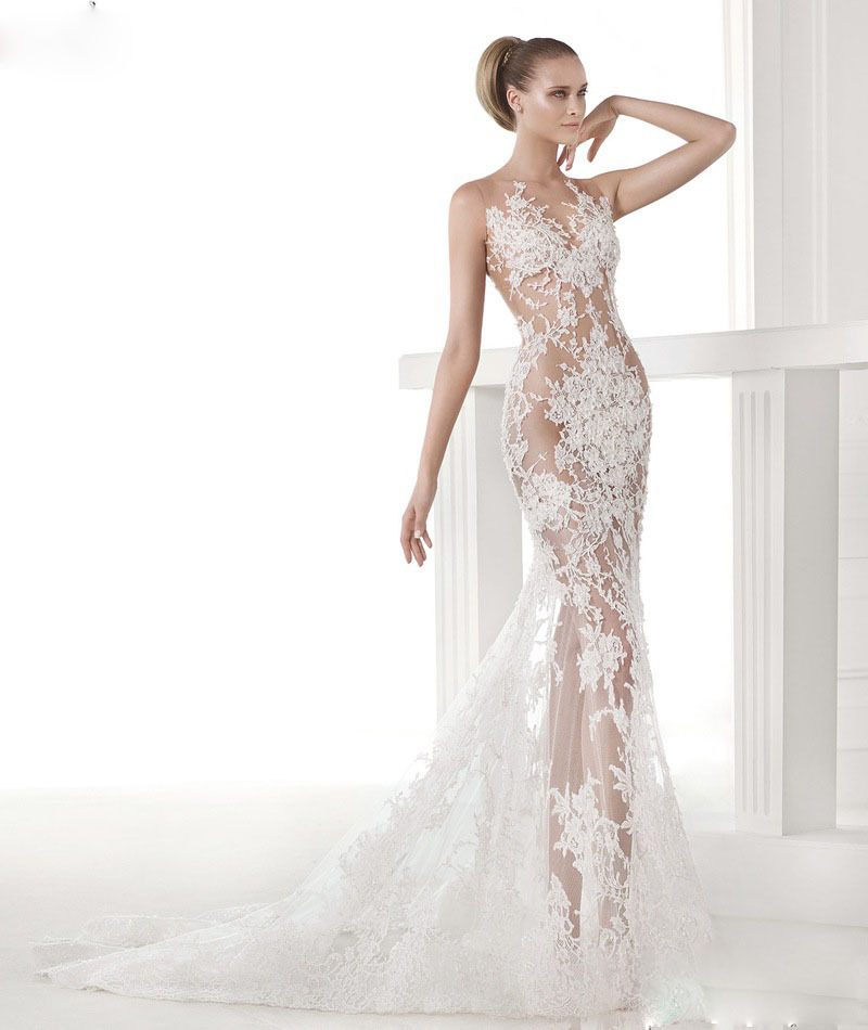 Online Get Cheap Vintage Mermaid Wedding Dresses -Aliexpress.com ...