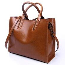 Натуральная кожа женская сумка большая сумка большой емкости сумки сумка краткое все матч один женские коровьей сумки на ремне,