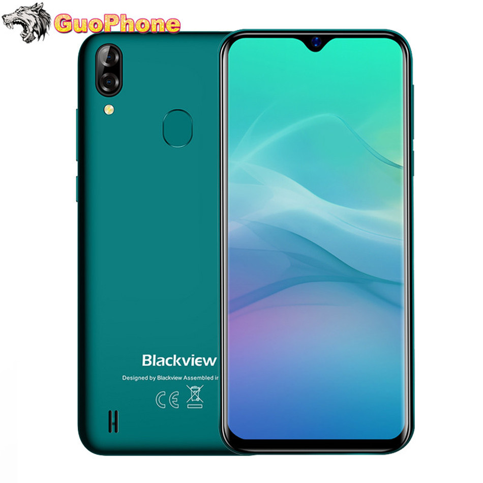 Blackview A60 Pro Smartphone Mobile Phone 6.088 Waterdrop Screen 4G LTE 4080mAh Android 9.0 3GB RAM Dual Rear Camera Cell Phone  - buy with discount