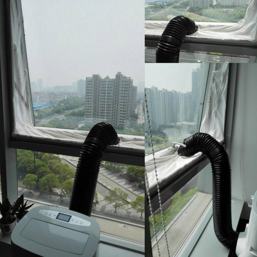 XinSiLu Airlock Window Sealing For Mobile Air Conditioners And Exhaust Air Dryers Dropshipping July 26