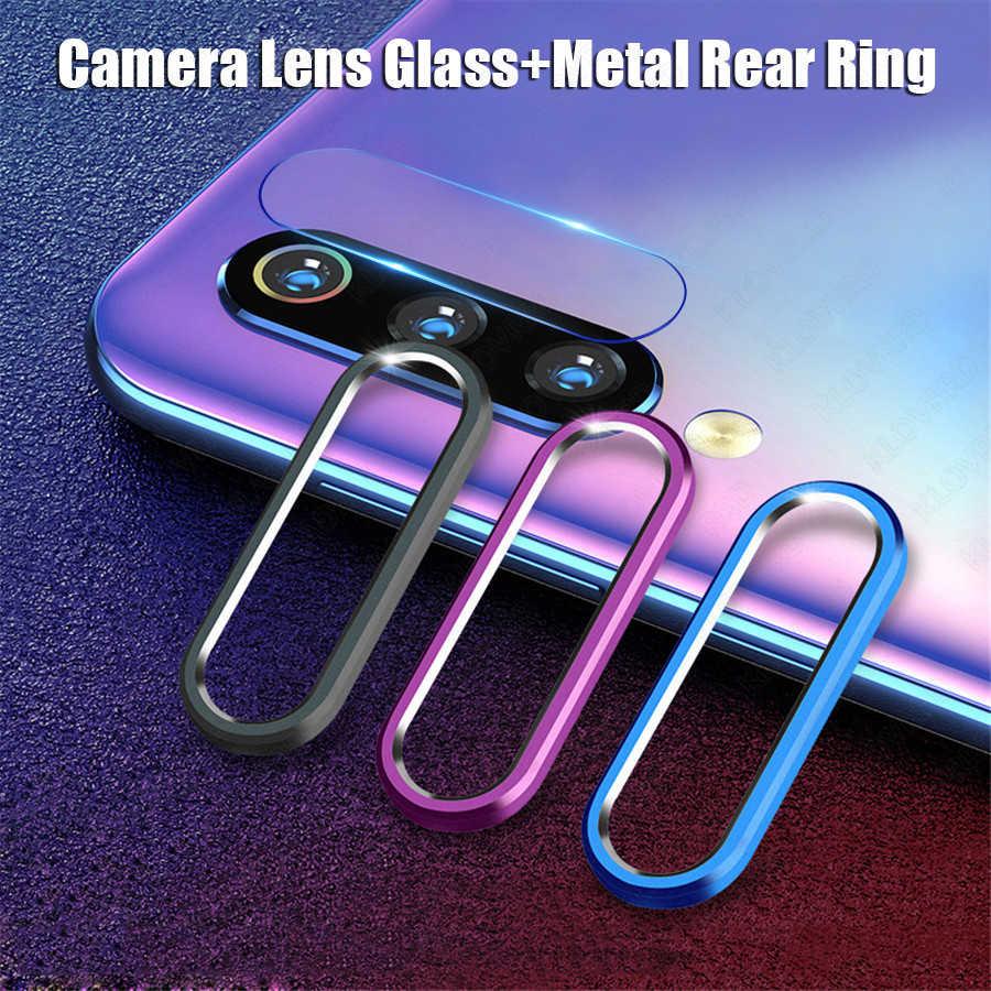 עבור שיאו mi mi 9T אדום mi K20 הערה 7 פרו מצלמה עדשת מגן מזג זכוכית מצלמה עדשת סרט מתכת טבעת מקרה כיסוי פגוש mi CC9