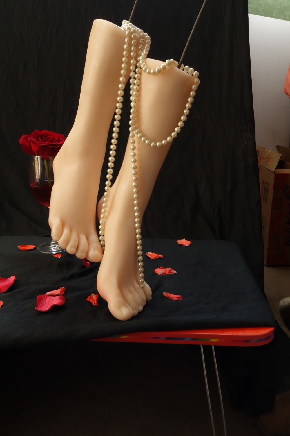 Top quality silicone feet for display, silicone sex doll feet sex toys, female fake foot fetish toys 37yard