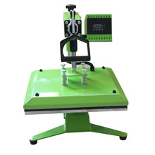 2015 new style manual heat press machine for tshirt garments clothes