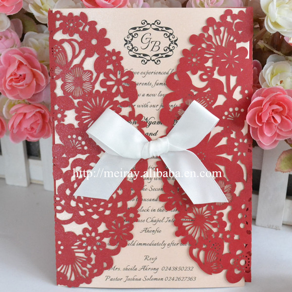 Marriage Invitation Card Models