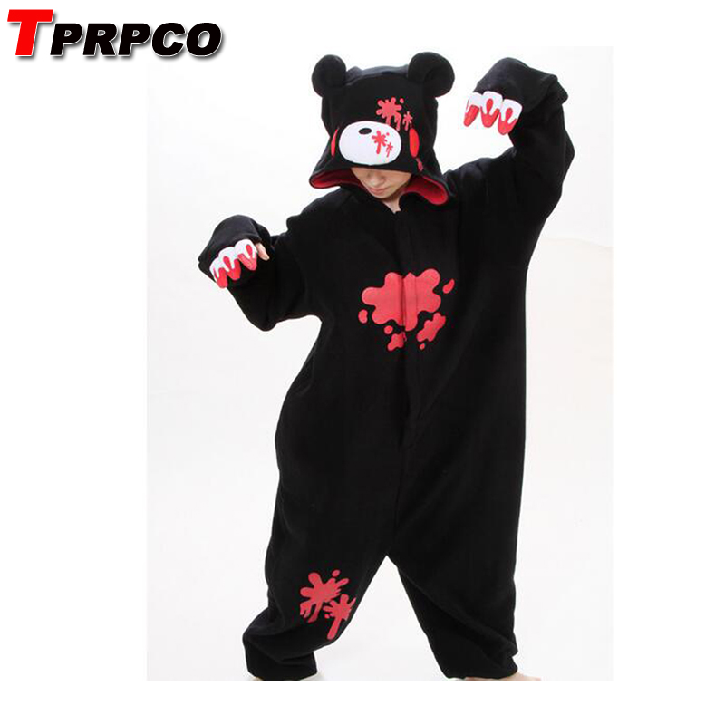 TPRPCO Gloomy Bear Pajamas Anime Cosplay Costume Unisex Adult Onesie Sleepwear NL213