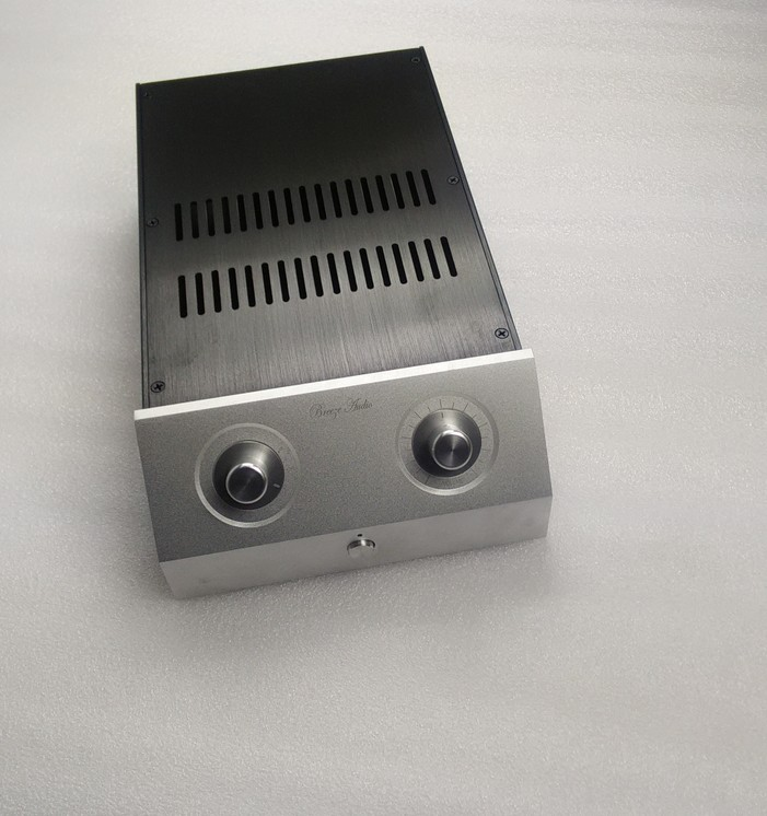 C-031 CNC All Aluminum Chassis Case Box Cabinet for DIY Audio Power Amplifier  362mm*220mm*100mm 362*220*100mmC-031 CNC All Aluminum Chassis Case Box Cabinet for DIY Audio Power Amplifier  362mm*220mm*100mm 362*220*100mm