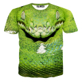 15-20 Years Big Boys T-shirt 3D Viper Dog Tiger Printed Short Sleeve T Shirt Big Kids Clothing Street Skate Boy Tops tyh-20691