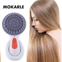 Electric head massager scalp massage relax vibration Massage Brush waterproof massage comb relief fatigue pressure health care