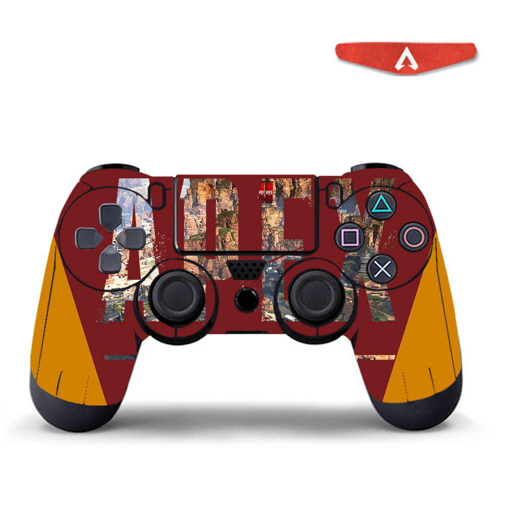 Apex legends skin sticker for sony playstation 4 controller vinyl decal skins for ps4 gamepad controle