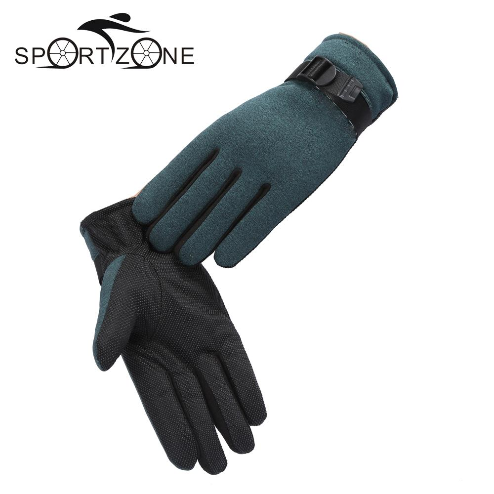 Mens fleece gloves xxl - Fleece Winter Windproof Motorcycle Gloves Men Winter Warm Fleece Thermal Motorcycle Ski Snow Snowboard Glove Mtb
