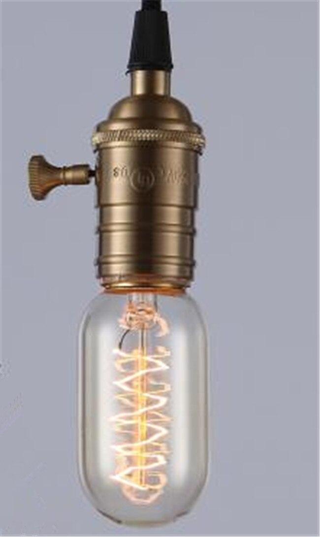 Ретро лампа E27 винтажные нить накаливания Light 220 В лампа накаливания G95 ST64 ST30 лампы для домашнего декора Bombillas наружного освещения - Цвет: Синий