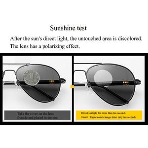 Image 5 - 2019 New Design Women Men Polarized Sunglasses Outdoor UV Protection Lens Car Driving Chameleon Discoloration Glasses