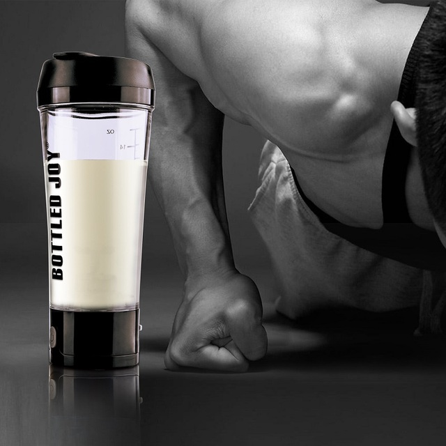 Transparent Electric Protein Shaker