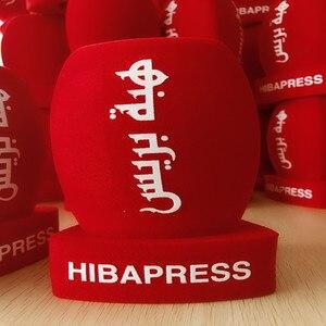 Image 2 - Linhuipd Reporter Style wywiad Mic Foam szyby przednie ręczna szyba do stacji telewizyjnej nadawanie wideo Mic dziennikarz