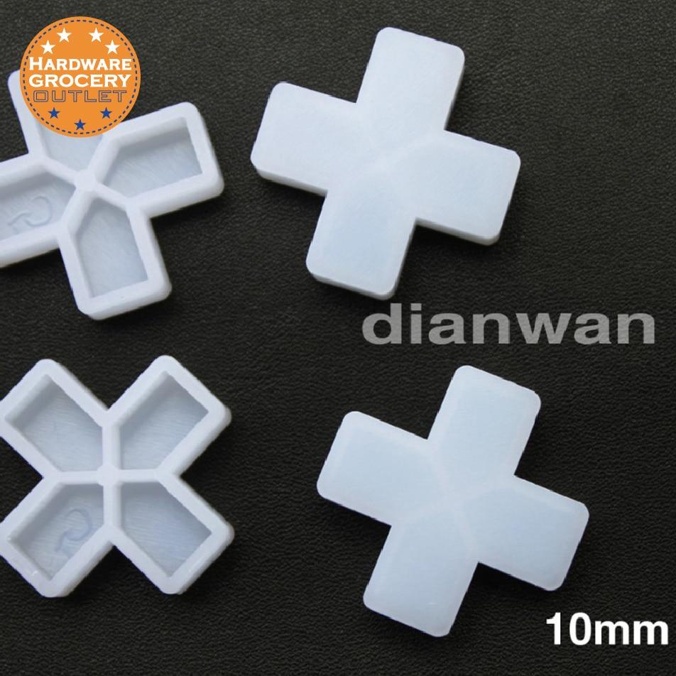Separadores de baldosas de 10 mm para espaciar baldosas de suelo o pared, 200 piezas