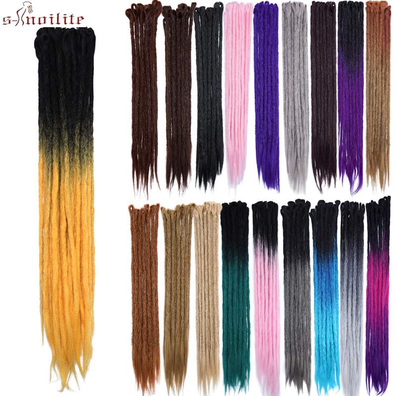 Hair Extensions & Wigs Hair Braids S-noilite 100g/pack 24inch Braiding Hair Ombre Two Tone Colored Jumbo Braids Hair Synthetic Hair For Dolls Crochet Hair Clear And Distinctive