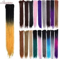 S Noilite 20 24 Handmade Dreadlocks Hair Extensions Crochet Braids