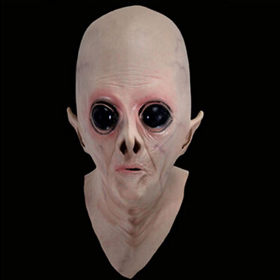 Aliexpress.com : Buy Funny Scary Silicone Face Mask Alien Ufo ...