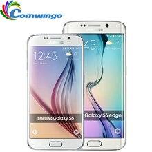 Оригинальный Samsung Galaxy S6/S6 Edge G925F G920F Мобильного Телефона Octa Ядро 3 ГБ RAM 32 ГБ ROM 16MP 5.1 «-дюймовый Android 5.0 Смартфон