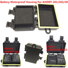 Новые аксессуары батарея водонепроницаемый чехол Корпус для Gopro Hero 6 5 4 3+ камера батарея крепление
