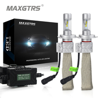 2x Newest H4 9003 HB2 Car LED Headlight Conversion Kit DRL 8000lm For Philips Lumileds Hi