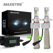 2x H4 9003 9004 9007 H13 HB2 Car Headlight Conversion Kit DRL 8000lm For Lumileds Chip Lumileds Hi/Lo Dual Beam Fog Light  Bulbs