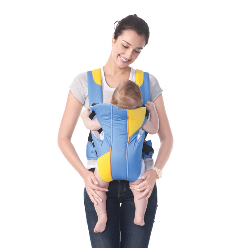 Bebamour Baby Carrier Backpack Three Position Cotton Infant Sling Wrap for Newborns Baby Kangaroo Carriage Toddler Suspenders baby carrier ergonomic re hold infant backpack carriers for baby care toddler sling kangaroo baby suspenders