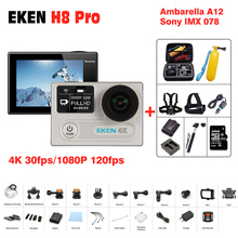 Original EKEN H8 PRO Ultra HD Action Camera with Ambarella A12chip 2.0'Screen DVR 4k/30fps 1080p/120fps go h8pro sport Camera sj