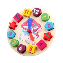 Cute Time Learning Wooden Montessori Game