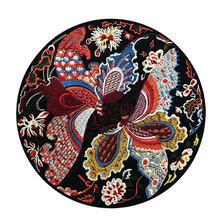 1 Pieces Flowers Butterfly Bird Iron on Patches Embroidered Patch for Clothes Badge Sewing Fabric Applique DIY Crafts