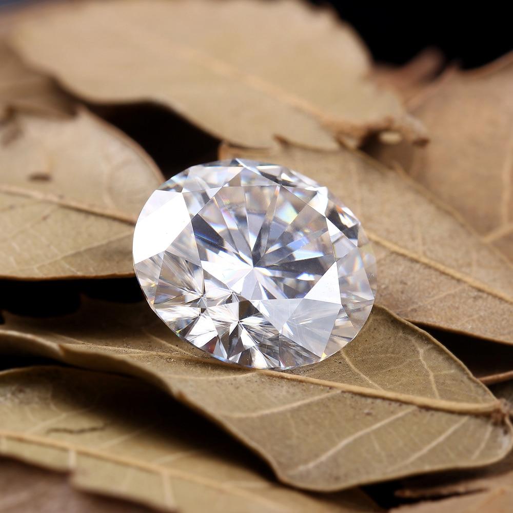 Lab Grown Loose Moissanite Diamond 3 Carat 9mm No Less