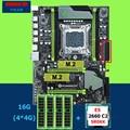 HUANAN ZHI X79 Pro motherboard mit dual M.2 slots rabatt motherboard mit CPU Intel Xeon E5 2660 SR0KK RAM 16G (4*4G) RECC