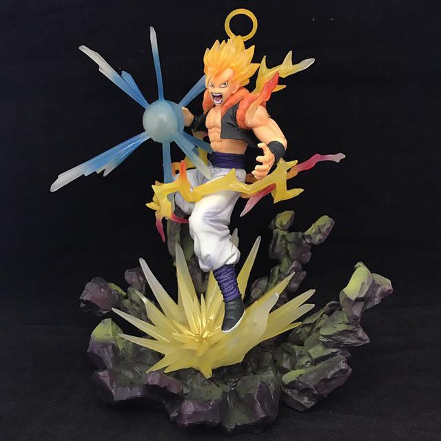 New Dragon Ball Z Gogeta Action Figure 1/8 scale painted figure Fighting Ver. Super Saiyan Gifts no retail box (Chinese Version)