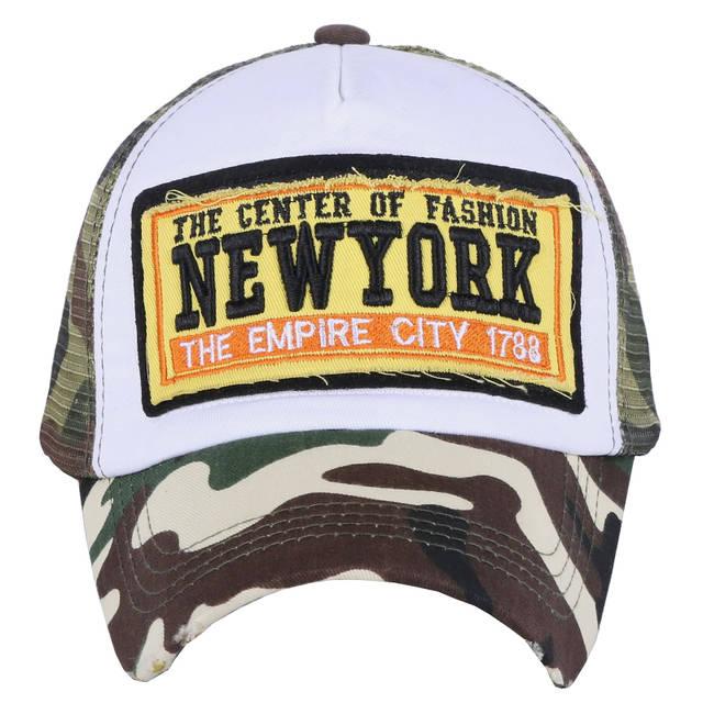 placeholder Murah grosir wanita pria musim panas topi baseball kustom  desain mesh gaya keren gadis boy mode 04f34d2983