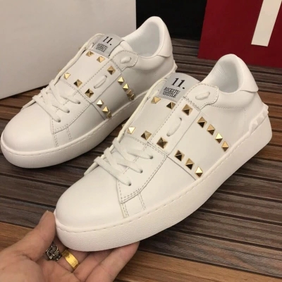 En 2 Femmes Cuir Dames Automne Rivets Design Naturel Plates Tête Marque 2019 40 Chaussures De 1 Ronde 34 Mode Décontracté qSMpLGUVz