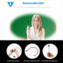 Professional Mini 2.4G Wireless Microphone System