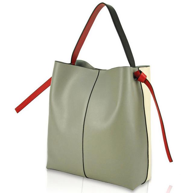 Women Real Nappa Leather Tote Designer Handbag Shoulder Purse Shopper Shopping Cabas Bag Fashion Daily Casual Weekend Satchel