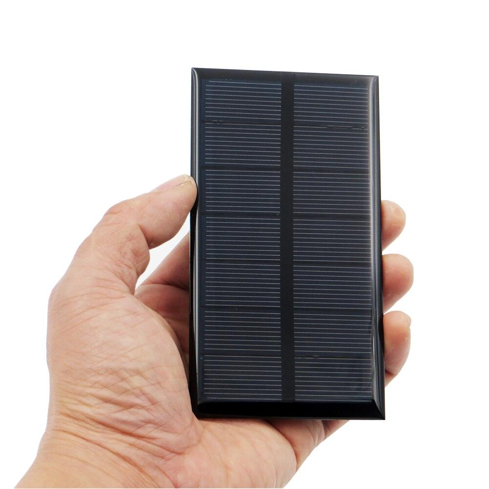 1pc X 3 5v 250ma Solar Panel Portable Mini Sunpower Diy