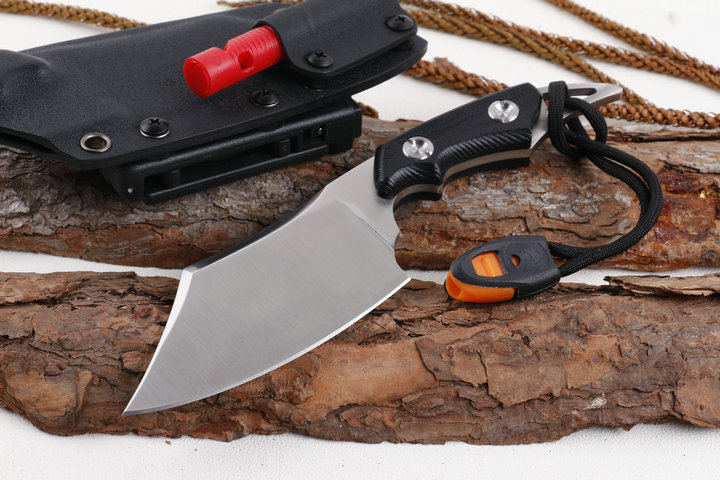 Full Tang Tactical Survival Fixed Knives,D2 Blade G10 Handle Hunting Knife,Camping Knife. цена
