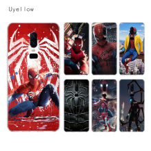 Uyellow Spiderman Marvel Silicone Phone Case For One Plus 7 Pro 6 6T 5 5T Shell Luxury Soft Fashion Fundas Printed Cover Coque